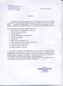 referencje sąd 11.15r.